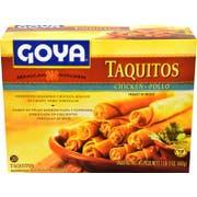 Goya Chicken Taquitos, 21.164 Ounce -- 12 per case.