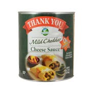 Bay Valley Foods Thank You Mild Cheddar Cheese Sauce, Number 10 Can -- 6 per case.