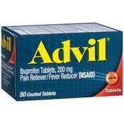 Advil Ibuprofen 200mg Fever Reducer Tablet, 50 per unit -- 36 per case