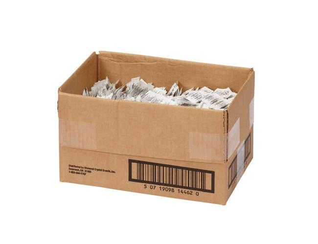 Single Serv Flat Pepper Packet, 0.1 Gram -- 3000 per case.