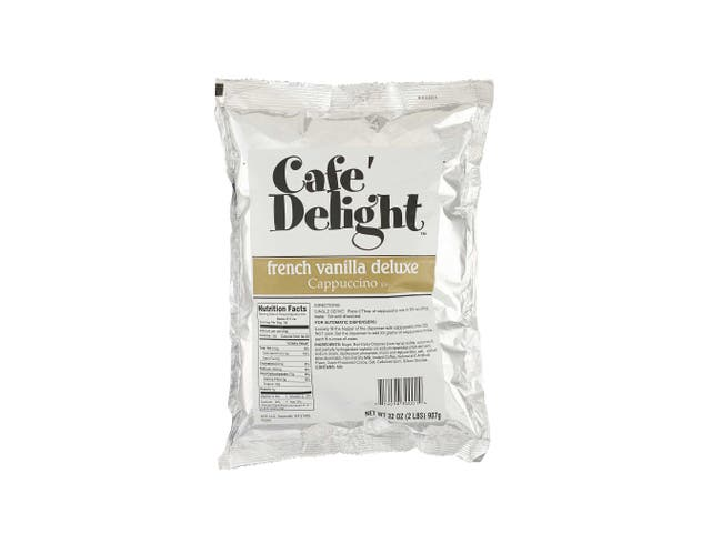 Cafe Delight Deluxe French Vanilla Cappuccino, 2 Pound -- 6 per case.