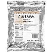 Cafe Delight Premium Froth Cappuccino, 1 Pound -- 12 per case