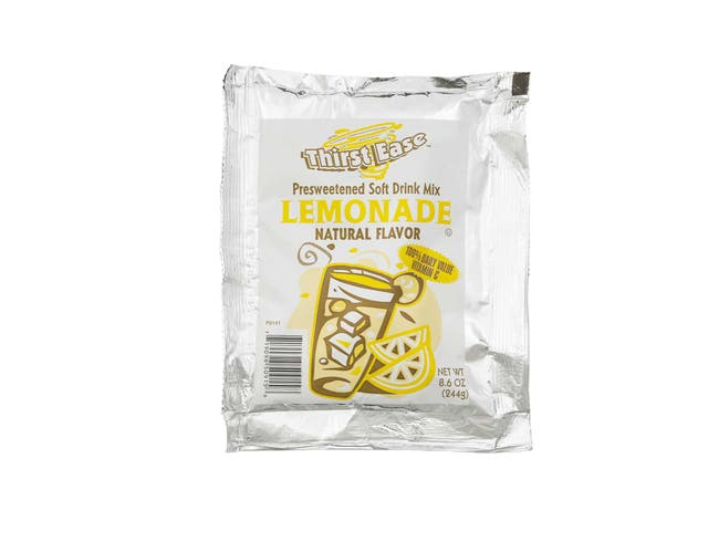 Thirst Ease Lemonade Drink Mix, 8.6 Ounce -- 12 per case.