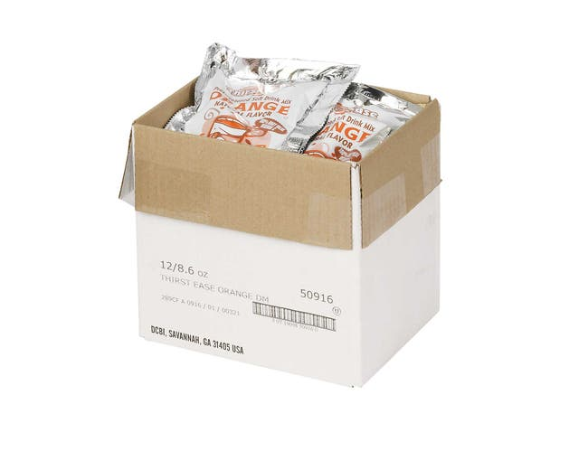Thirst Ease Orange Drink Mix, 8.6 Ounce -- 12 per case.
