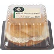 Deli Express Ranch Chicken Salad Croissant -- 8 per case.