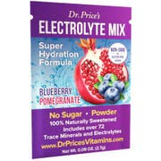 Dr. Price Vitamins Blueberry Pomegranate Flavor Electrolyte Mix - 30 count per pack -- 1 each