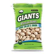 Giants Sour Cream Onion Pistachios, 4.5 Ounce -- 8 per case