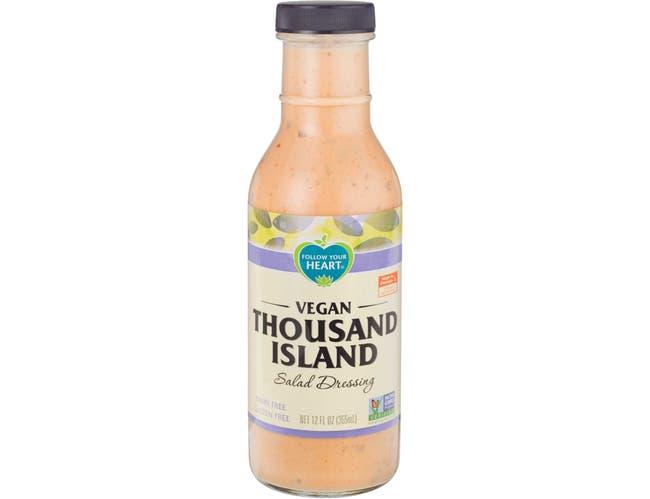 Follow Your Heart Vegan Thousand Island Salad Dressing, 12 Ounce -- 6 per case.