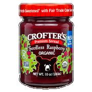 Crofters Organic Premium Raspberry Spread, 10 Ounce -- 6 per case.