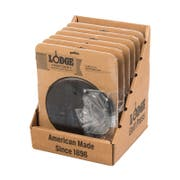 Lodge Preseasoned Cast Iron Round Grill Press -- 6 per case.