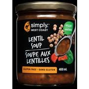 Simply West Coast Lentil Seafood Soup, 14.1 Ounce -- 6 per case