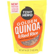 Tiny Hero Golden Quinoa and Red Rice, 16 Ounce -- 6 per case