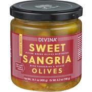 Divina Sweet Sangria Olives, 14.1 Ounce -- 6 per case