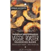 Urban Accents Parmesan Mediterranean Veggie Roaster Seasoning Blend, 1.25 Ounce -- 6 per case