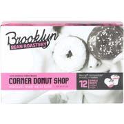 Brooklyn Bean Roastery Corner Donut Shop Single Serve Coffee, 12 count per pack -- 6 per case
