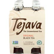 Tejava Original Unsweetened Black Tea, 12 Fluid Ounce - 4 count per pack -- 6 packs per case
