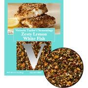 Victoria Taylor's Zesty Lemon White Fish Seasoning, 0.7 Ounce -- 24 per case