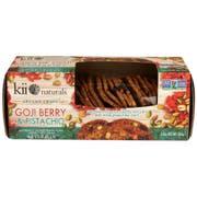 Kii Naturals Goji Berry and Pistachio Artisan Crisps, 5.3 Ounce -- 12 per case