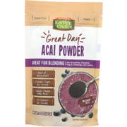 Natures Earthly Choice Acai Powder Blending, 8 Ounce -- 6 per case