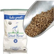 Great River Organic Whole Grain Hard Red Spring Wheat, 25 Pound -- 1 each