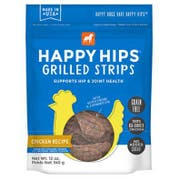 Happy Hips Grilled Chicken Strips Dog Treat, 12 Ounce -- 6 per case