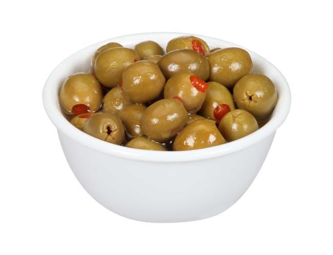 Spanish Green Olives, 340/360 Gallon -- 4 Case