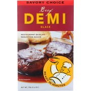 Savory Choice Concentrate Beef Demi Glace, 2.6 Ounce -- 12 per case