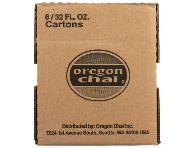 Oregon Chai Sugar Free Original Chai Tea Latte, 32 Fluid Ounce -- 6 per case