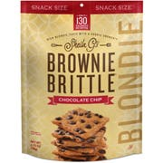 Sheila Gs Chocolate Chip Brownie Brittle Blondie, 2.75 Ounce -- 8 per case