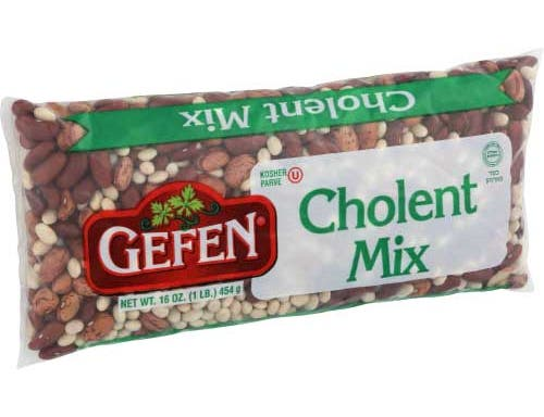 Gefen Cholent Beans Soup Mix, 16 Ounce -- 24 per case
