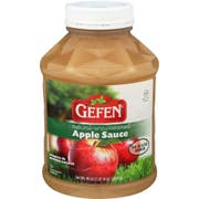 Gefen Natural Unsweetened Apple Sauce, 46 Ounce -- 8 per case
