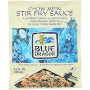 Blue Dragon Chow Mein Stir Fry Sauce, 3.6 Ounce -- 12 per case