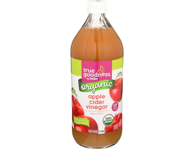 True Goodness Organic Unfiltered Gluten Free Apple Cider Vinegar, 32 Fluid Ounce -- 12 per case