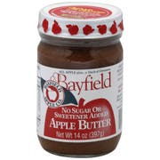 Bayfield Sugar Free Apple Butter, 14 Ounce -- 6 per case