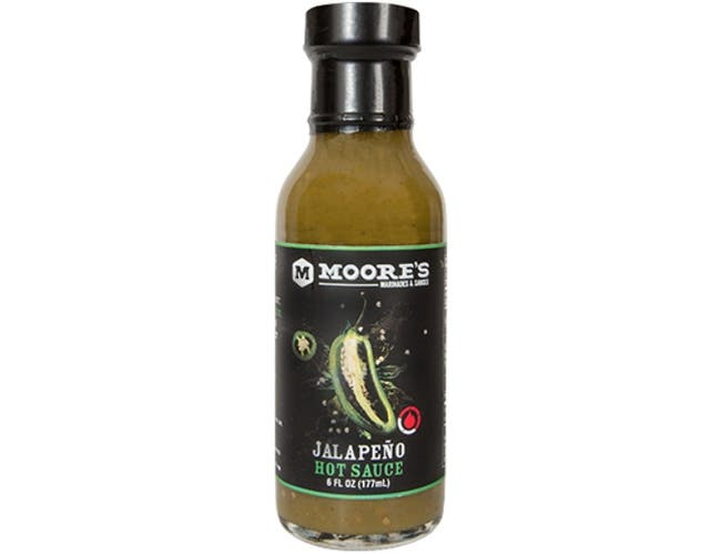 Moores Jalapeno Hot Sauce, 6 Ounce -- 6 per case