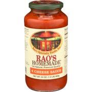 Raos Homemade Four Cheese Sauce, 24 Ounce -- 6 per case