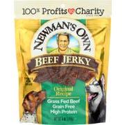 Newmans Own Organic Original Beef Jerky Dog Treats, 5 Ounce -- 6 per case