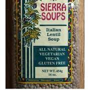 Sierra Soups Italian Lentil Soup Mix, 16 Ounce -- 6 per case