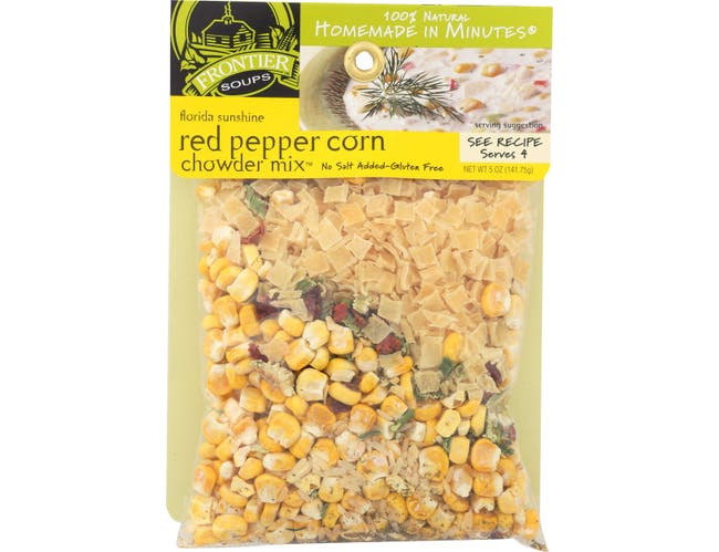 Frontier Soups Florida Sunshine Red Pepper Corn Chowder Soup Mix, 6 Ounce -- 8 per case