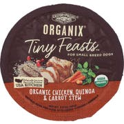 Castor and Pollux Organix Organic Tiny Feasts Chicken Quinoa and Carrot Stew Wet Dog Food, 3.5 Ounce -- 12 per case