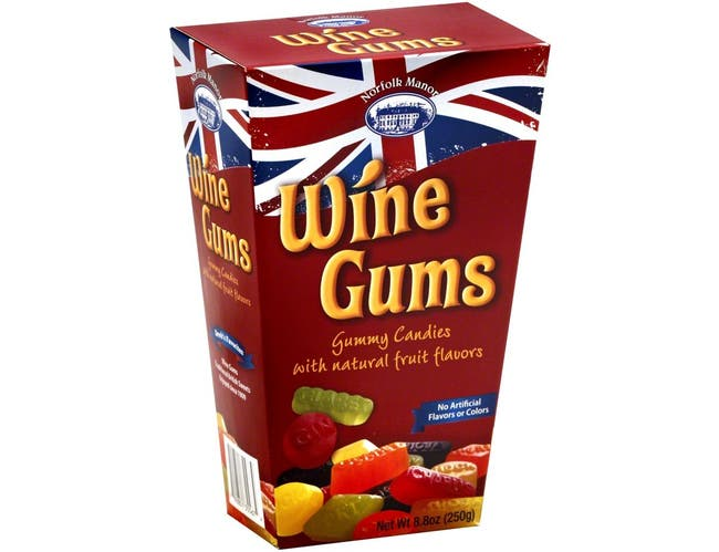 Norfolk Manor Wine Gum Candy, 8 Ounce -- 12 per case