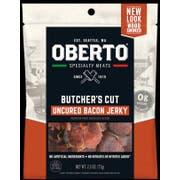 Oberto Butchers Cut Uncured Bacon Jerky, 2.5 Ounce -- 8 per case