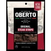 Oberto Original Steak Strips, 2.85 Ounce -- 8 per case
