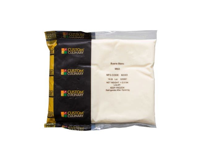Gold Label Beurre Blanc White Butter, 2 Pound Pouch -- 8 per case.