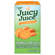Juicy Juice Orange Medley Vegetable Juice, 4.23 Fluid Ounce -- 40 per case.