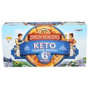 Birch Benders Keto Toaster Waffles, 5.08 Ounce -- 8 per case