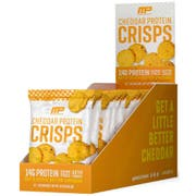 Muscle Pharm Cheddar Protein Cheese Crisps, 1 Ounce -- 12 per case