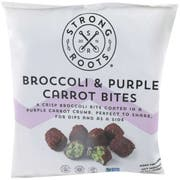 Strong Roots Broccoli and Purple Carrot Bites, 13.3 Ounce -- 12 per case