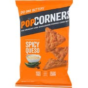 Popcorners Spicy Queso Corn Chips, 7 Ounce -- 12 per case