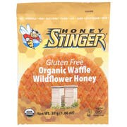Honey Stinger Organic Wildflower Honey Waffle, 1.06 Ounce -- 16 per case